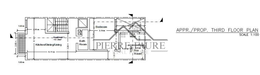 Plan 003 - Third Floor (Small)