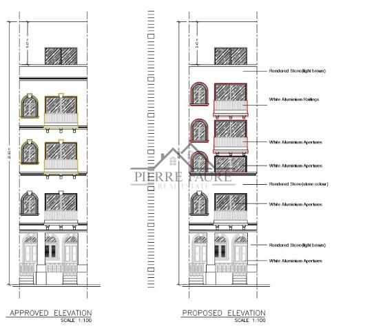 Plan 005 - Facade (Small)