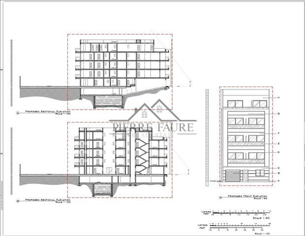 Sectional & Front Elevation (Small)