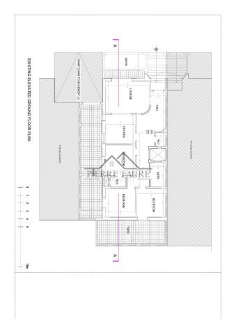 001 EXISTING ELEVATED GROUND FLOOR PLAN-1 (Small)
