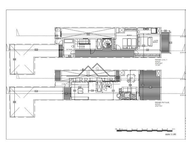 005 FERRIES PROPOSED NINTH AND PENTHOUSE FLOOR LEVELS_001 (Small)