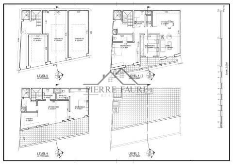 Seven Seas Court Iklin Floor Plan Level 0, 1, 2, 3 & 4-1 (Small)