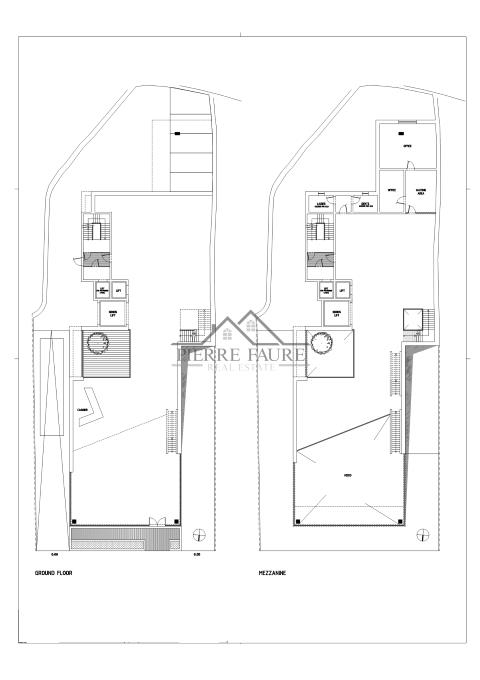 plan ground and maisonette_001 (Small)