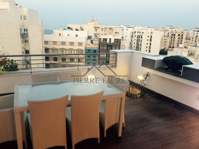 Penthouse for in sliema malta pierre faure real estate for 45 upper terrace san francisco