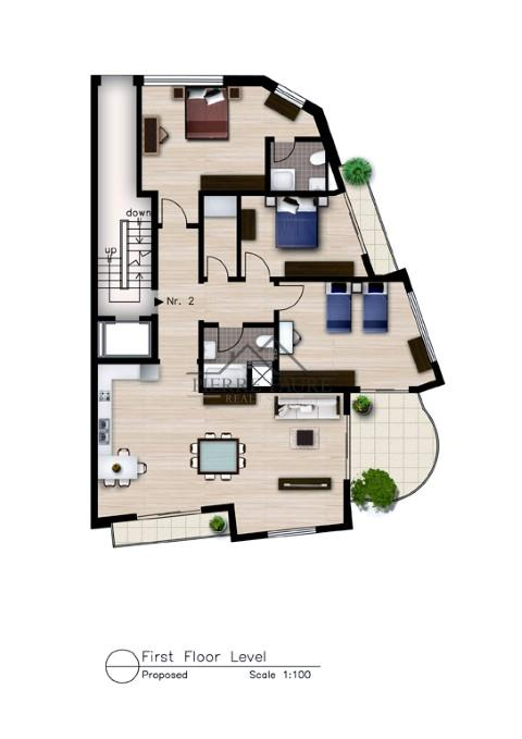 Madliena First floor plan (Small)