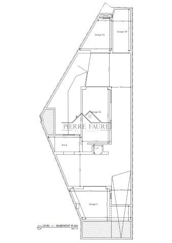 Plot 3, Hal Mula, Zebbug - Basement Level -1_001 (Small)