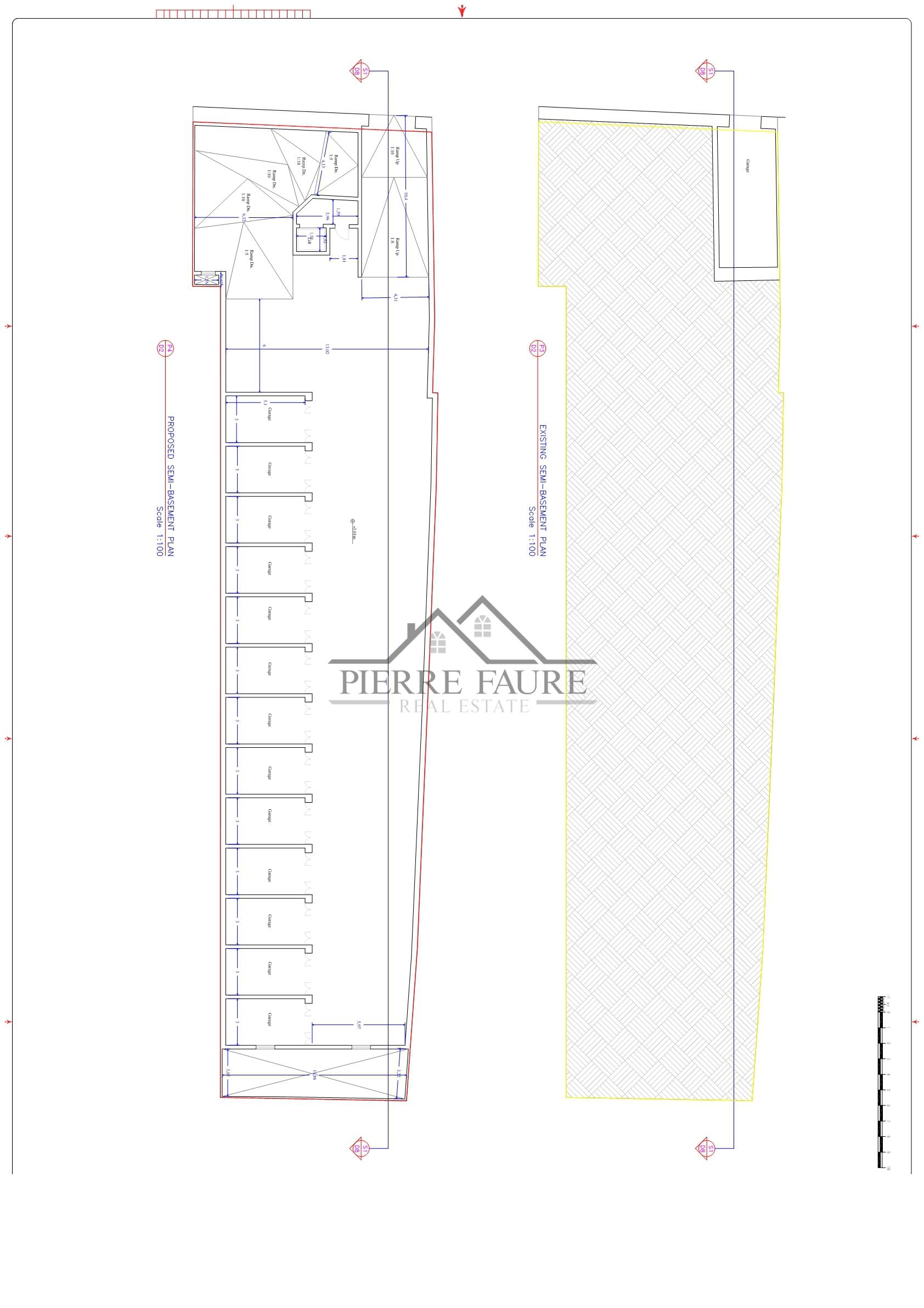 EXISTING-PROPOSED SEMI-BASEMENT PLAN_001